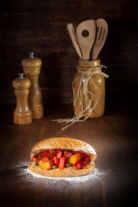 Sosis Bandari Sandwich