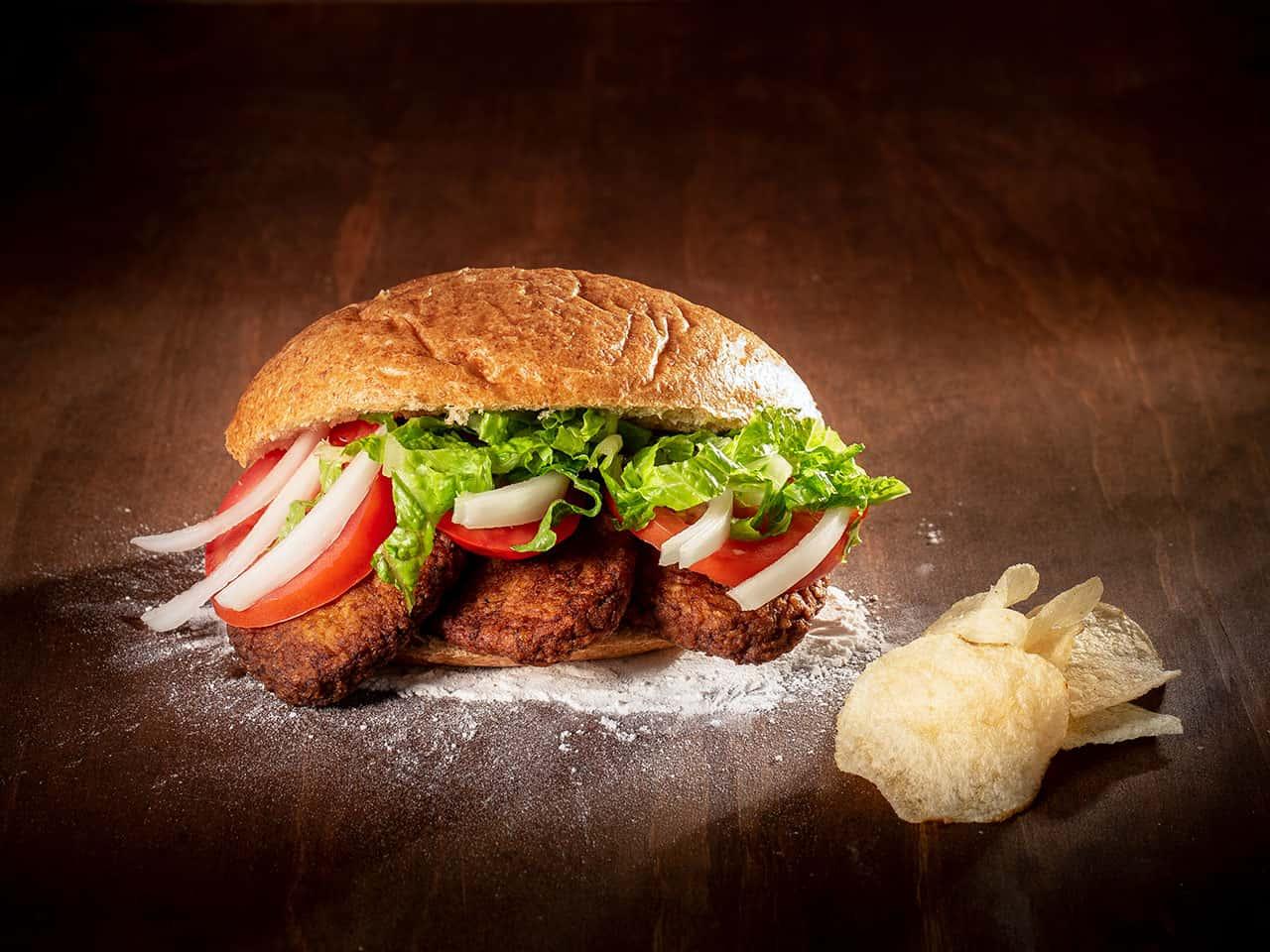 Beef Kutlet Sandwich