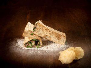 Beef Koobideh Sandwich