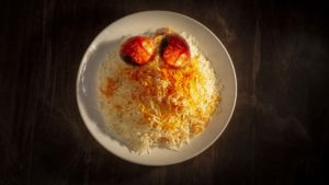 Rice and Tomatoes